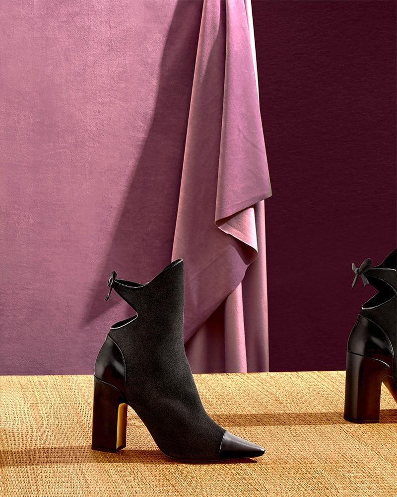 Fabrizio Viti Take A Bow Ankle Boots