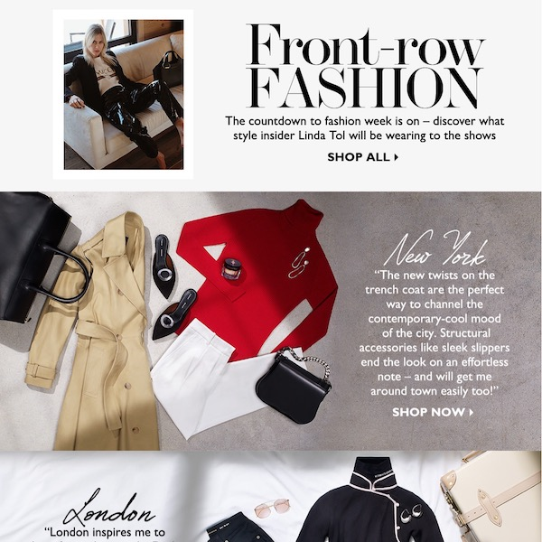 Front-Row Fashion // Fashion Week Packing List by Linda Tol
