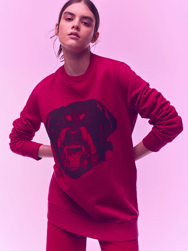Givenchy Rottweiler Cotton Sweatshirt