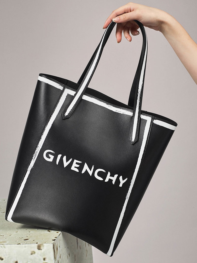 Givenchy Stargate Leather Tote Bag