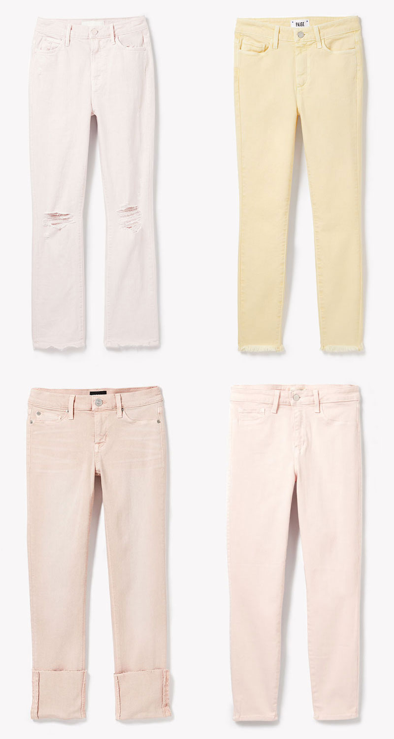 MOTHER High Waisted Rascal Ankle Jeans
