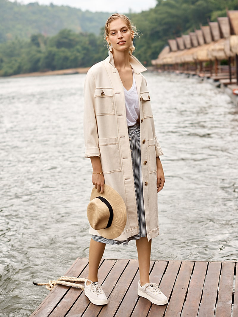 Madewell Cline Duster Coat
