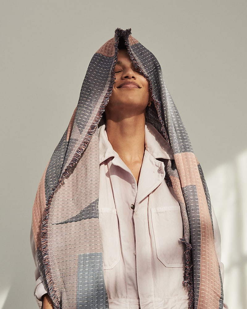 Madewell New Forms Stitched Scarf