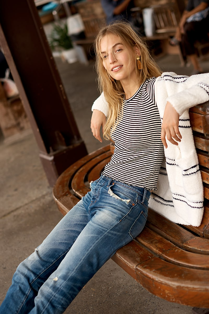 Madewell Straight-Leg Jeans in Cloverdale: Selvedge Edition