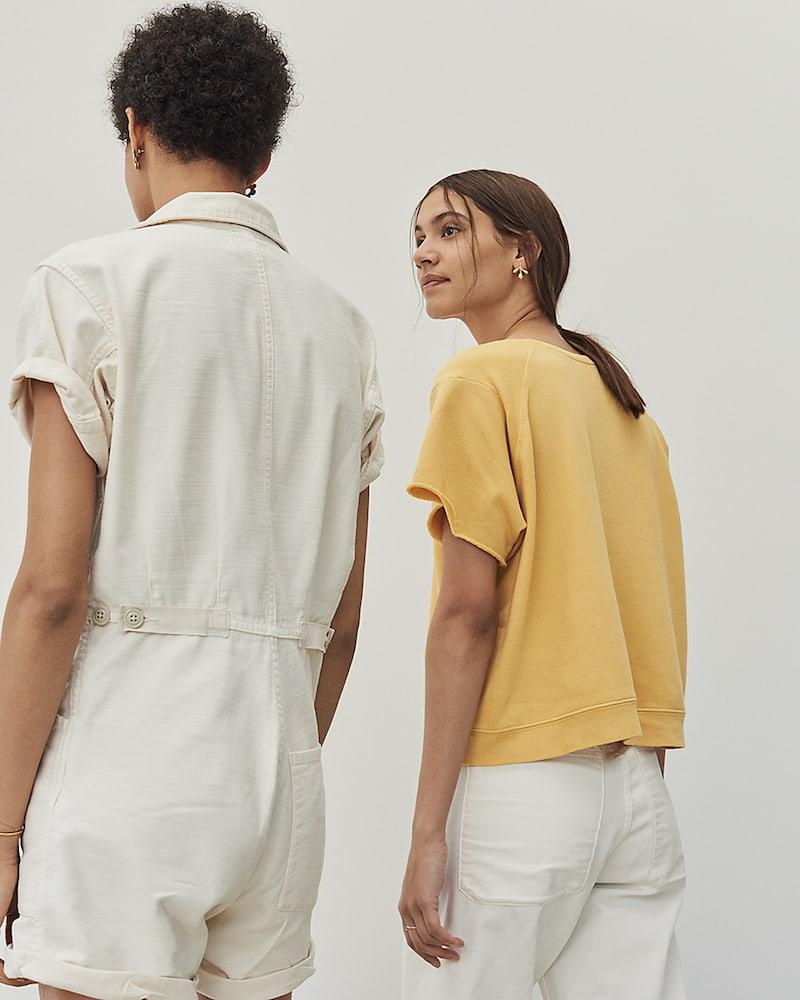 Madewell x As Ever Short-Sleeve Sweatshirt 1