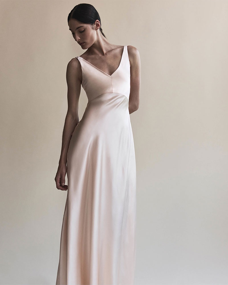 Narciso Rodriguez Silk Charmeuse Gown