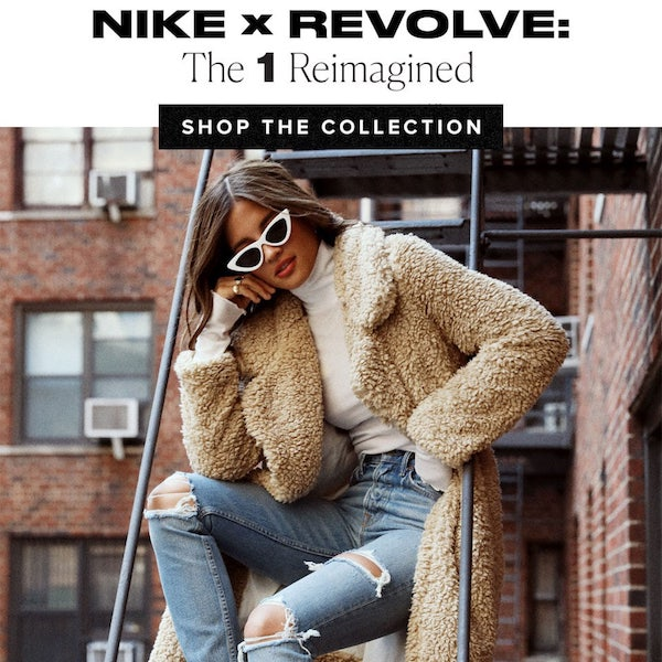 Nike x REVOLVE The 1 Reimaginged Collection