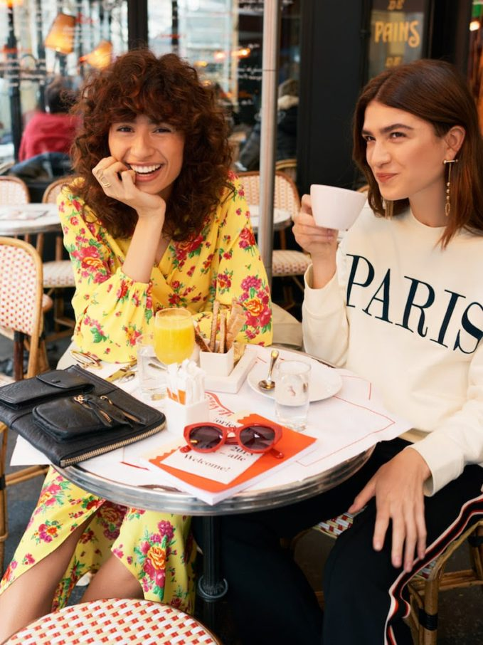 & Other Stories Embroidered Paris Pullover