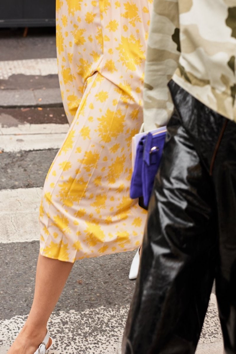 & Other Stories Patent Leather Culottes