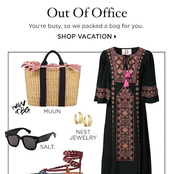 Out of Office: Vacation Essentials for Resort 2018
