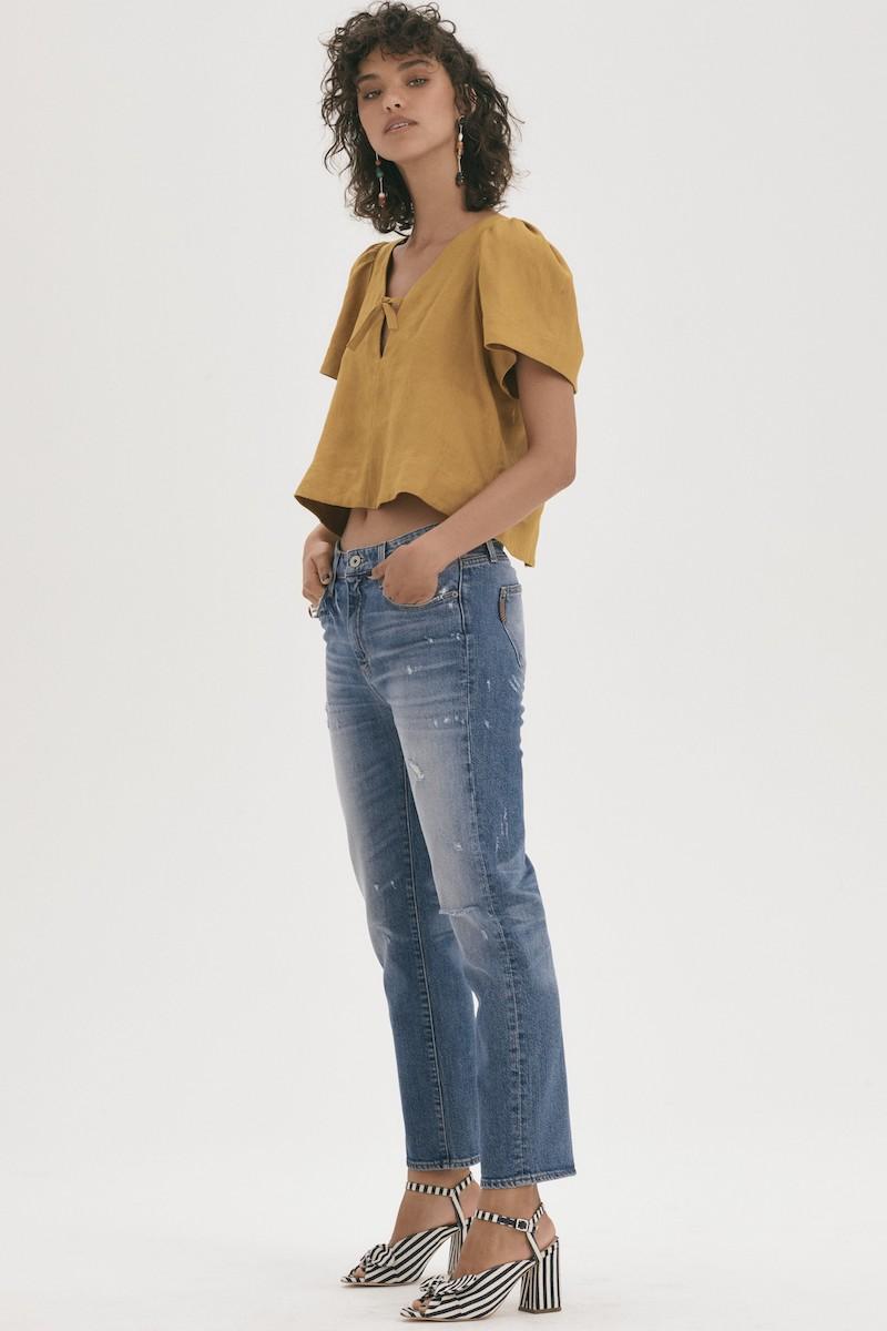 PAIGE Transcend Vintage - Noella Straight Leg Jeans