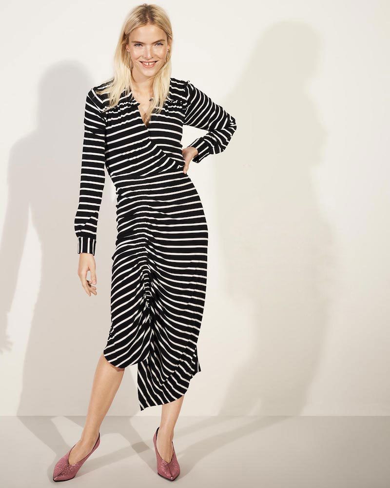 Preen By Thornton Bregazzi Annabel Striped Dress