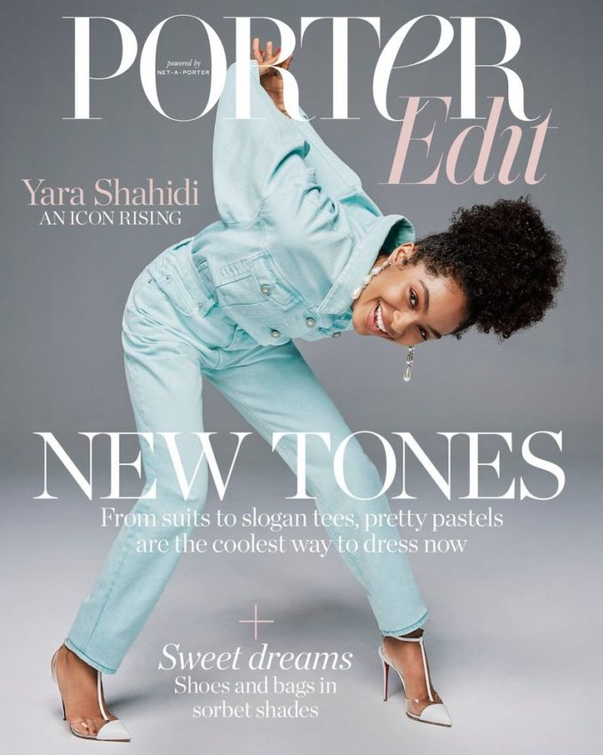 Pretty Powerful: Yara Shahidi for The EDIT