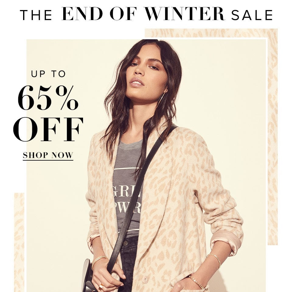 REVOLVE The End of Winter Sale 2018