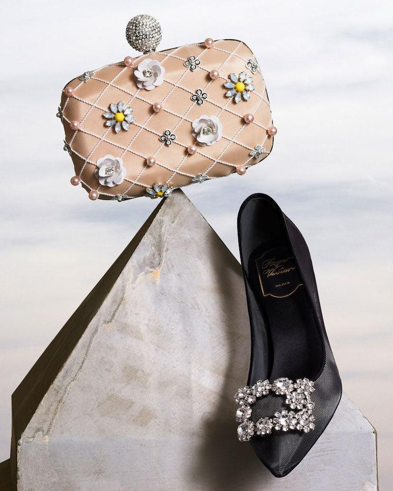 Roger Vivier Boite De Nuit Flower Cage Clutch Bag