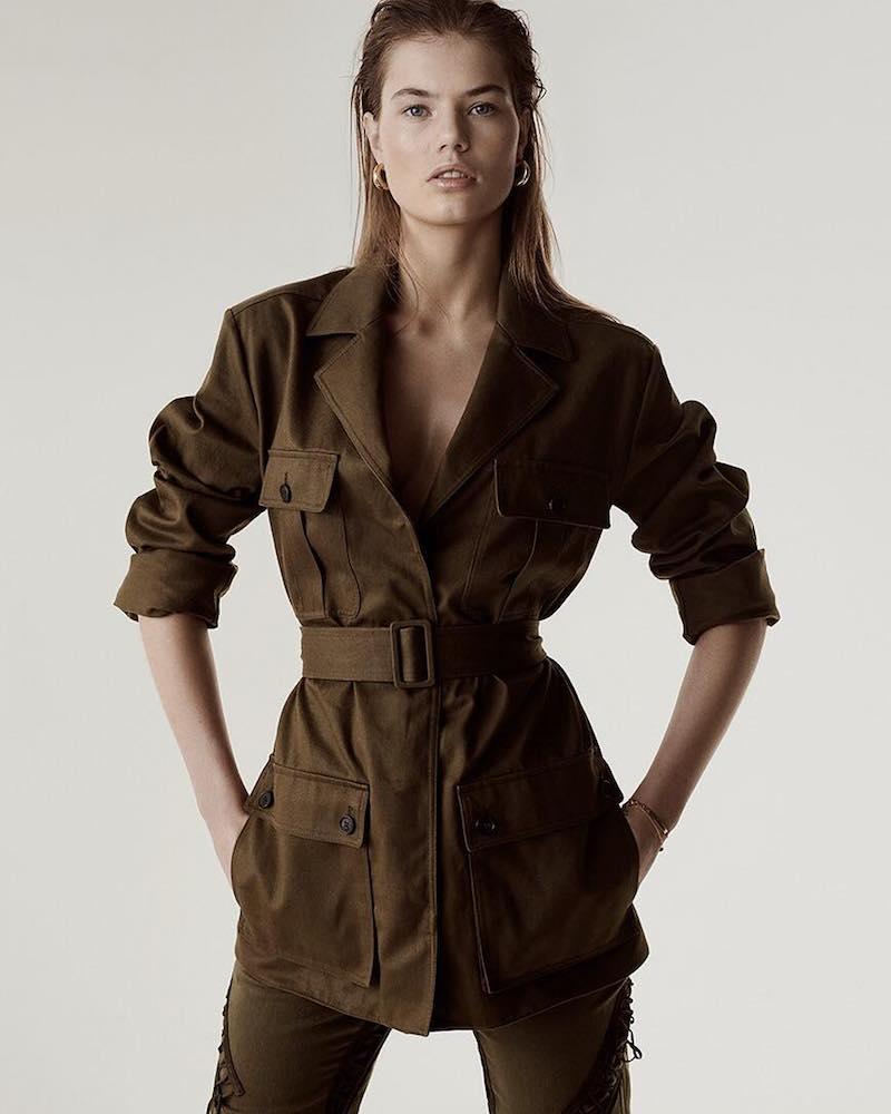 Saint Laurent Cotton and Ramie-Blend Gabardine Jacket