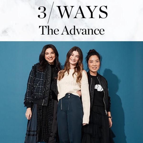 Saks The Advance // 3 Ways to Wear Bold Looks