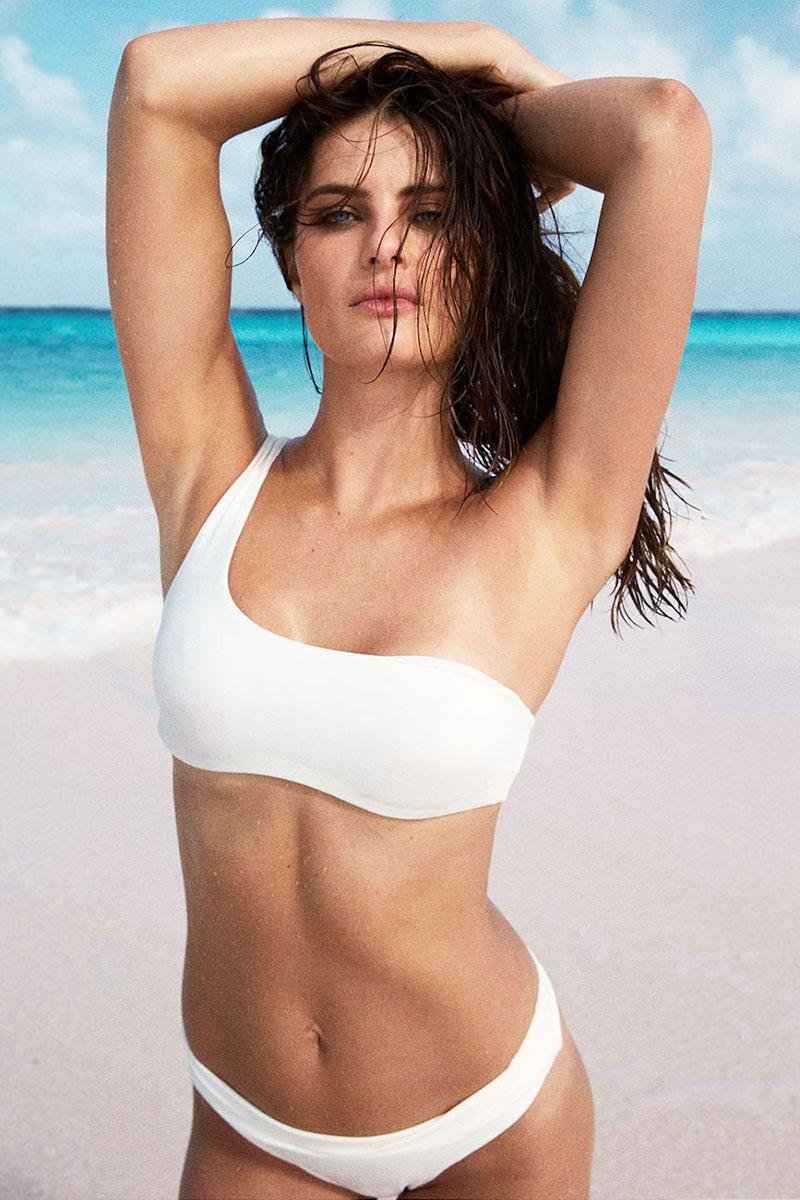 Solid & Striped Swim Team Isabeli Bikini Top