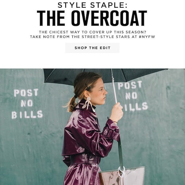 Style Staple: The Overcoat for Spring 2018