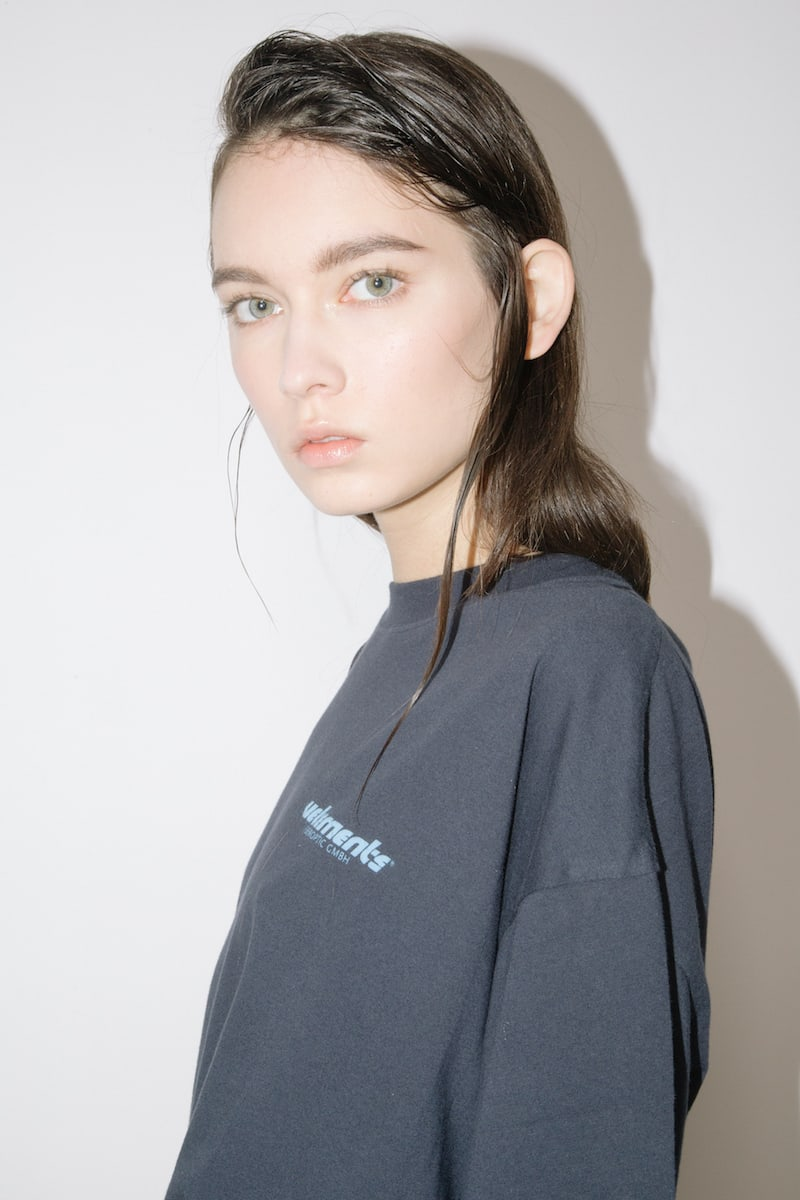Vetements Logo Printed Cotton Jersey T-Shirt