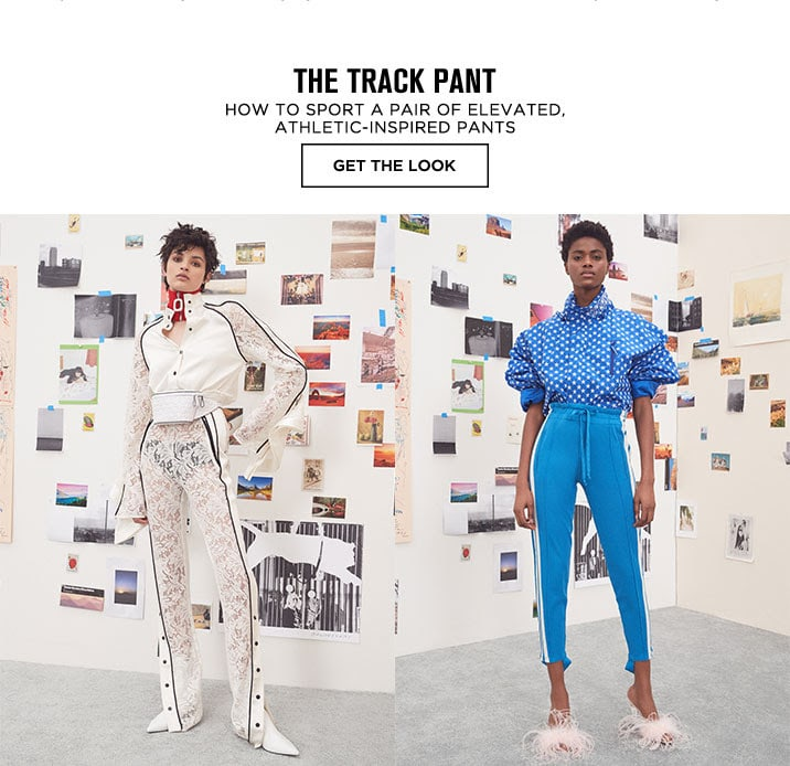 The Track Pant - Get The Look