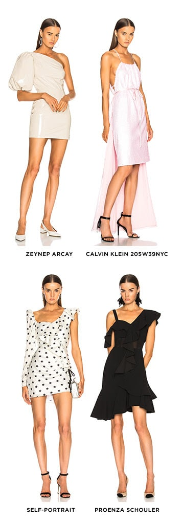 THE NEW SHAPE SWITCH-UP TO TRY NOW. SHOP ASYMMETRICAL DRESSES.