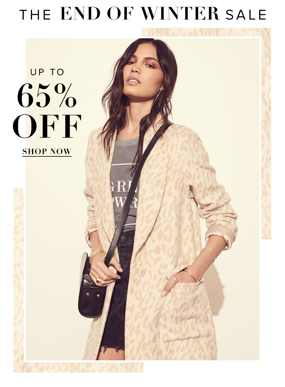 The End of Winter Sale. Up to 65% Off. Shop now.