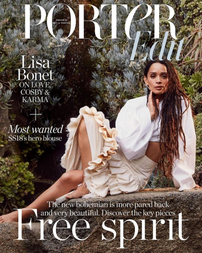 A Life Less Ordinary: Lisa Bonet for The EDIT