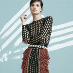Balmain Mesh Knit Bodysuit
