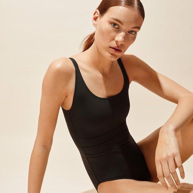 Eres Asia Scoop-Neck Swimsuit