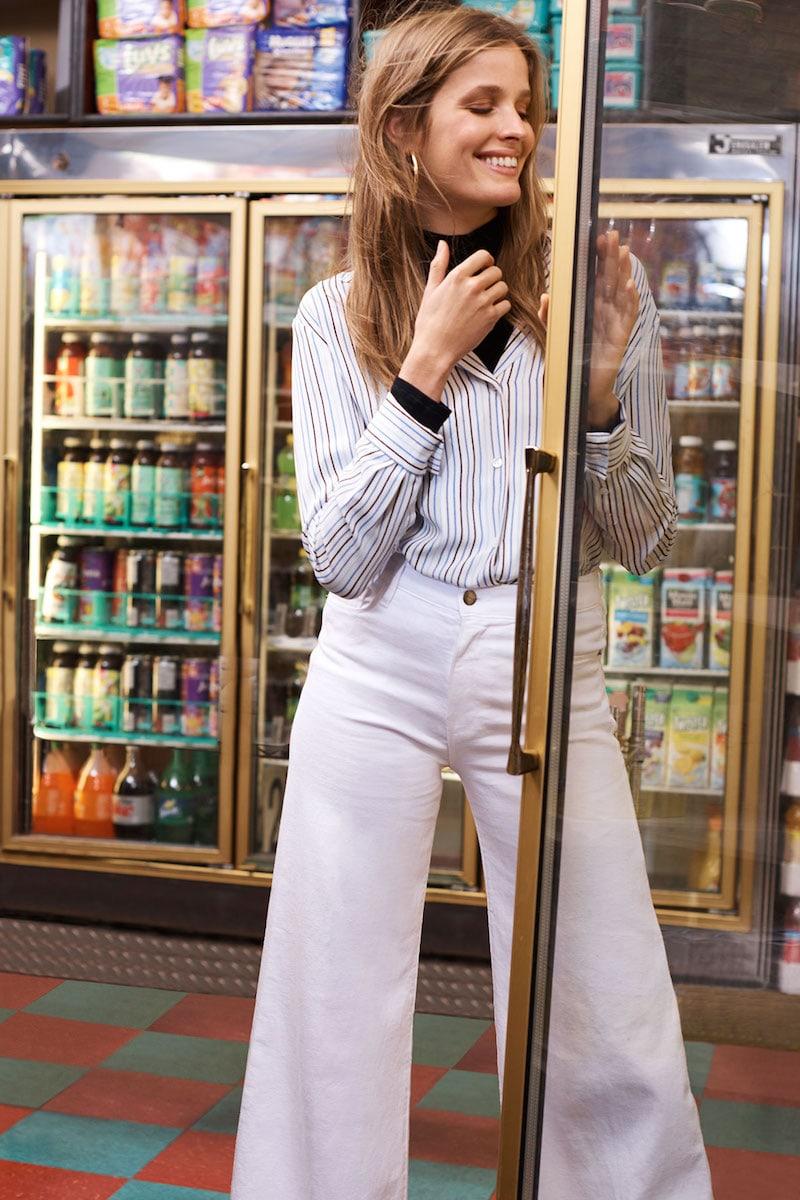 FRAME True Silk Long Sleeve Top