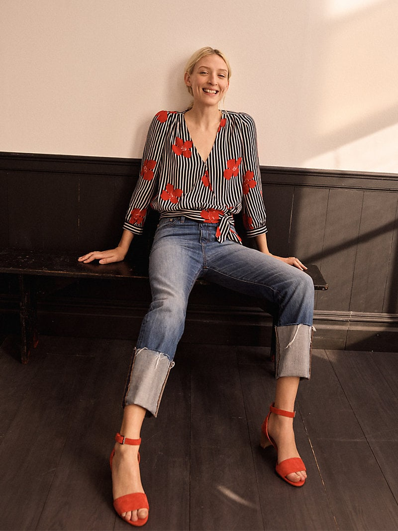Madewell Rigid Straight Crop Jeans Tall Cuff Edition