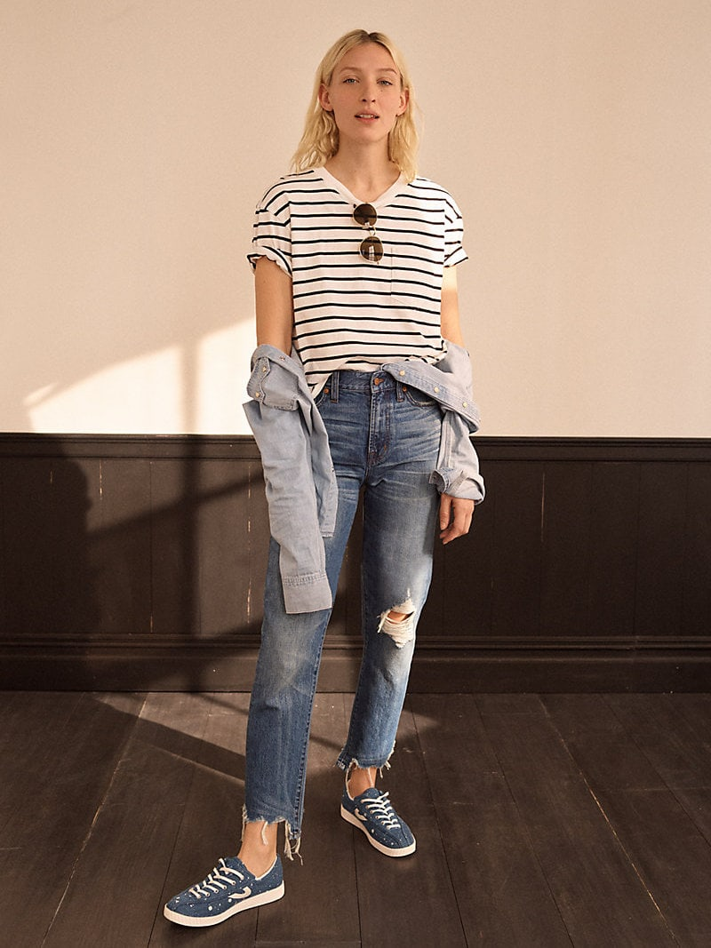 Madewell The Perfect Summer Jean Destructed Edition