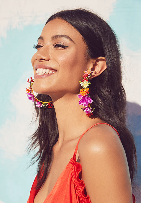 Mercedes Salazar Jardin De Flores Earrings