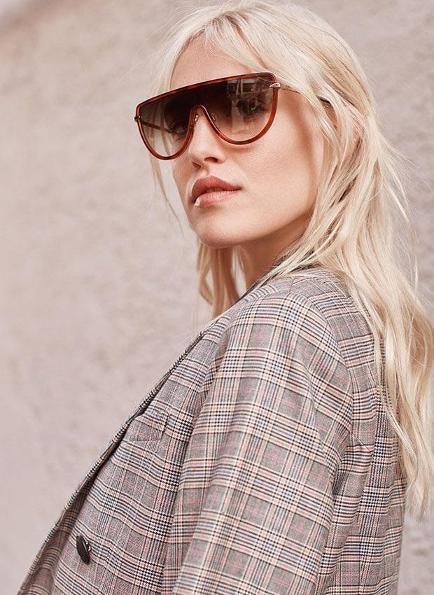 Rag & Bone Runway Shield Sunglasses