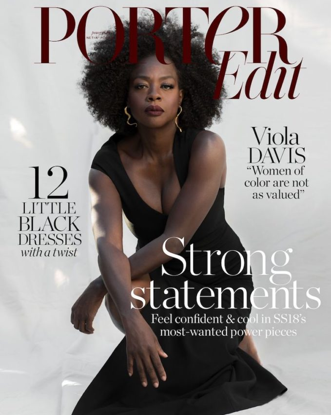 Strong Statements: Viola Davis for The EDIT