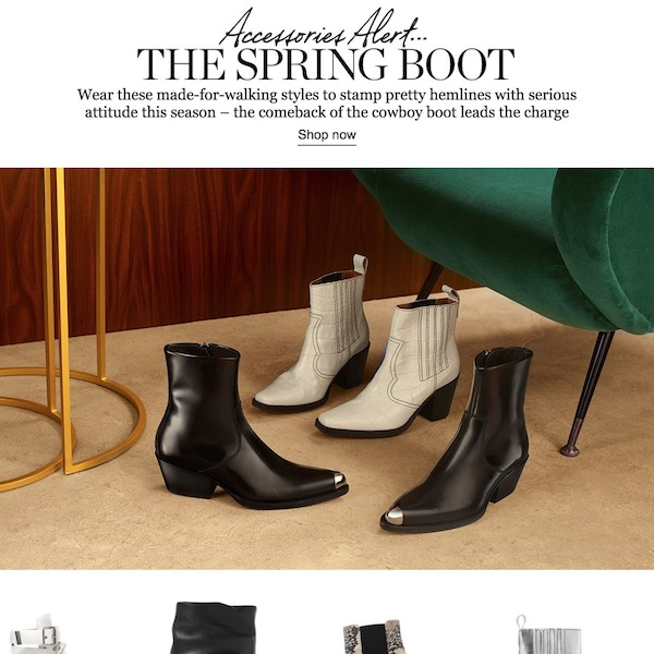 Accessories Alert // The Spring Boot 2018