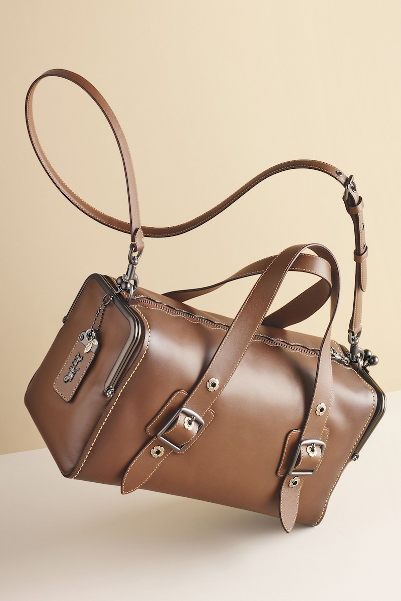 COACH 1941 Mailbox 35 Leather Satchel
