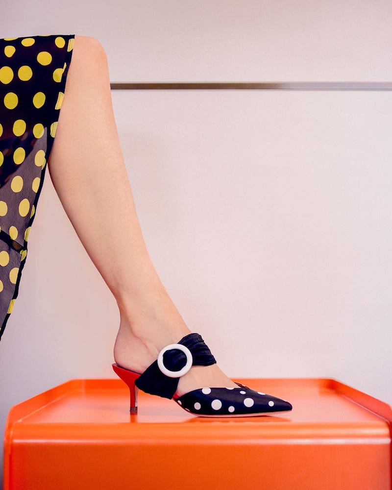 Emanuel Ungaro by Malone Souliers Maisie Leather Mules
