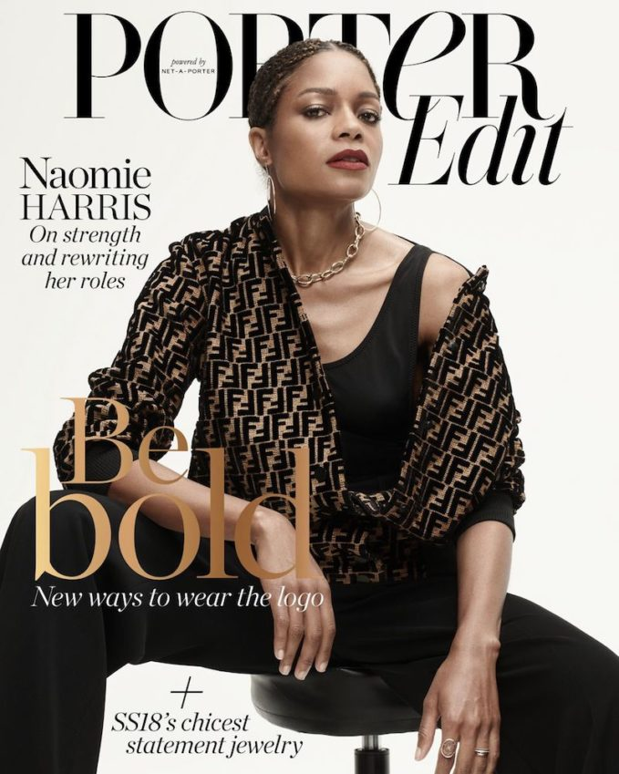 In Shape: Naomie Harris for The EDIT