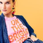 "J.Crew ""On the Bright Side"" T-Shirt"