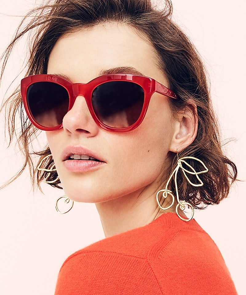J.Crew Cherry Earrings