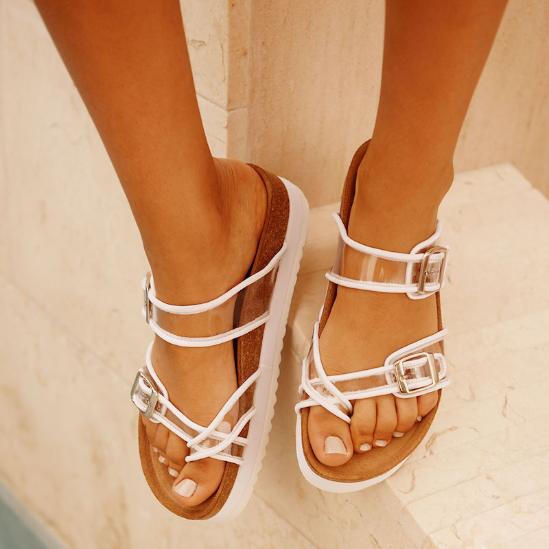 Jeffrey Campbell Fatu PVC Sandals