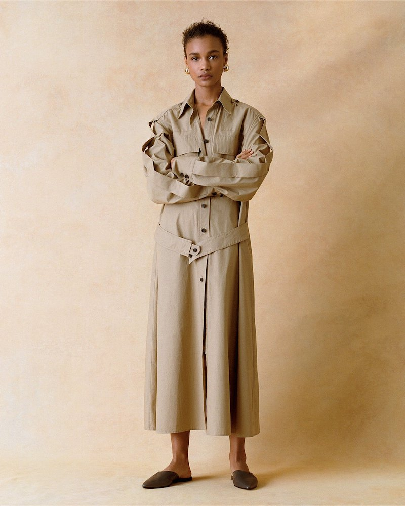 Joseph Haynes Cotton-Poplin Shirtdress