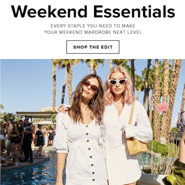 Looks We Love // Weekend Essentials for Festival 2018