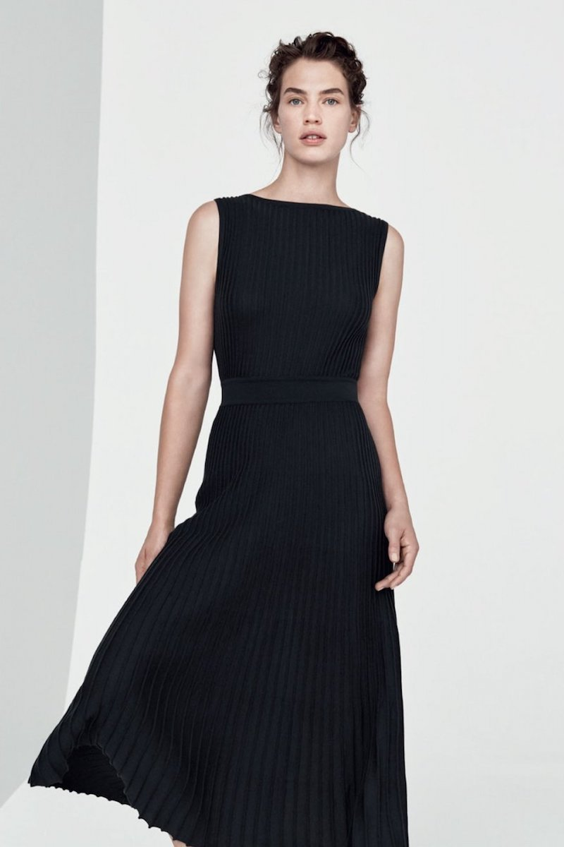Loro Piana Rib-Knit Dress
