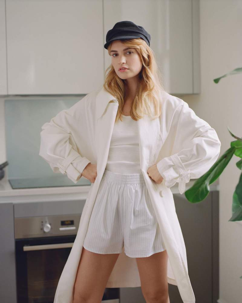 MM6 Maison Margiela Oversized Cotton-Canvas Trench Coat