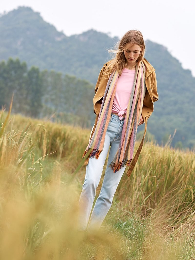 Madewell The Perfect Summer Jean In Fitzgerald Wash