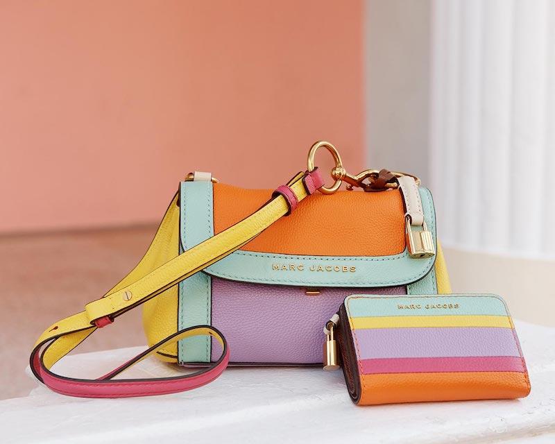 Marc Jacobs Mini Colorblocked Boho Grind Bag
