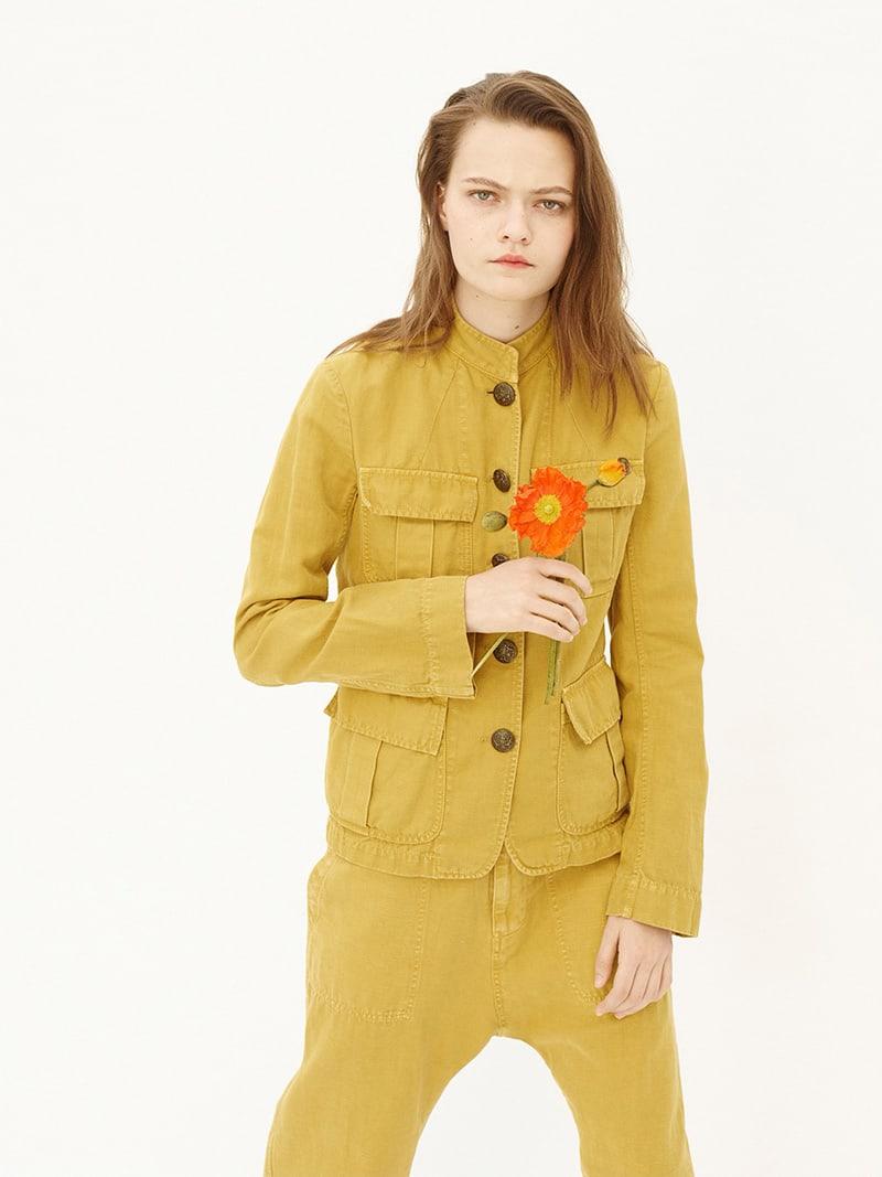 Nili Lotan Cambre Cotton-Linen Jacket